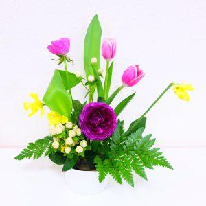 春のお花で