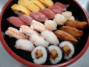 特養寿司バイキング