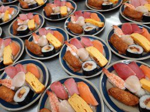 寿司バイキング